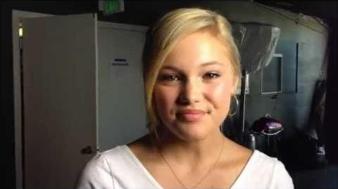 Olivia Holt at Show Your Character