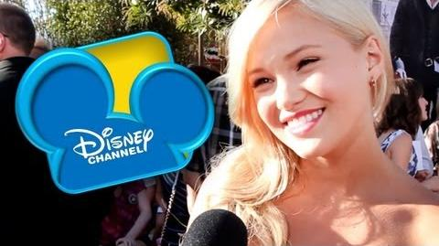 "Olivia Holt Talks New Show ""I Didn't Do It"""