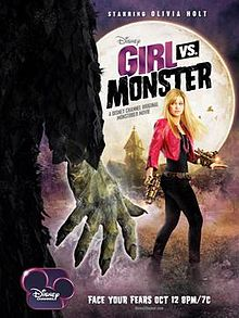 Girl vs. Monster Official Movie Poster