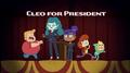 CleoforPresident
