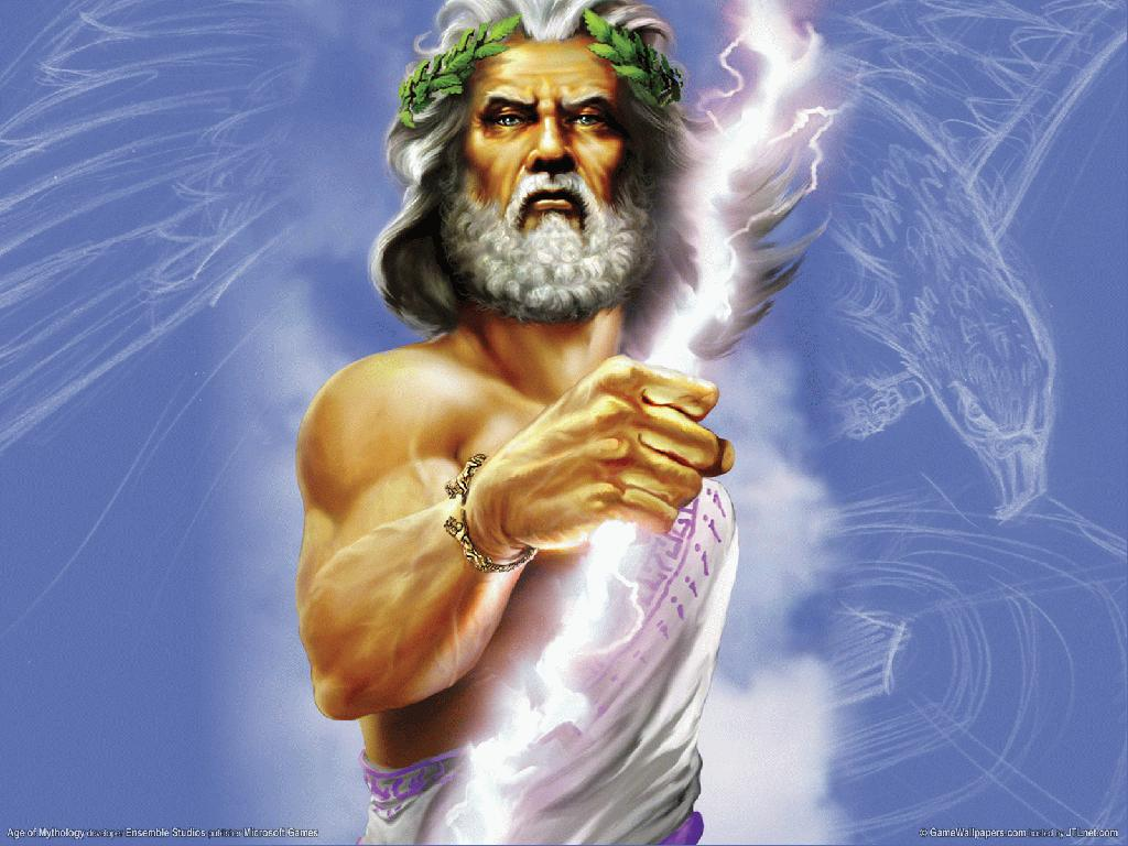 Image result for image of zeus