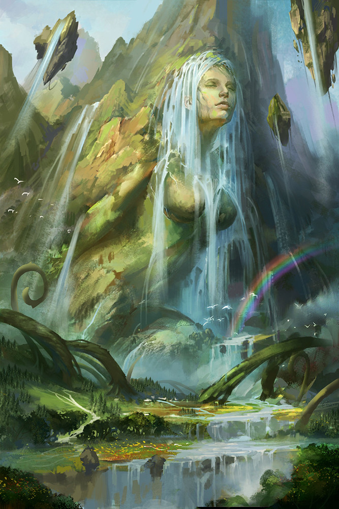 Gaea | Riordan Wiki | FANDOM powered by Wikia