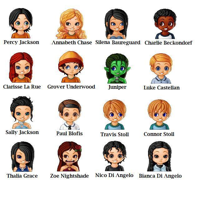image percy jackson chibi icons and screencap percy jackson