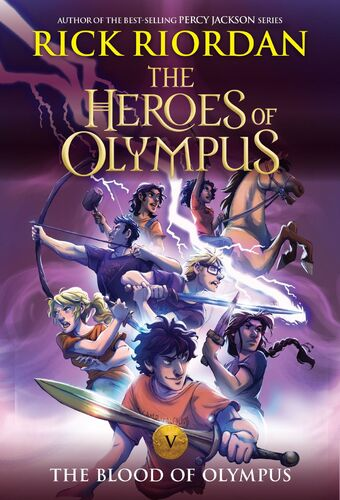The Blood Of Olympus Book 5 Pdf