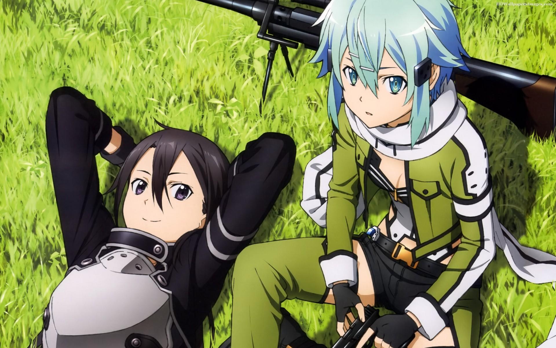 Kirito And Sinon Anime Images