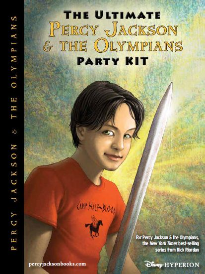 the ultimate percy jackson  u0026 the olympians party kit