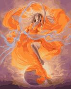 Hemera goddess of Light