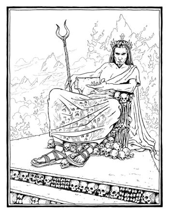 the lightning thief coloring pages - photo#22