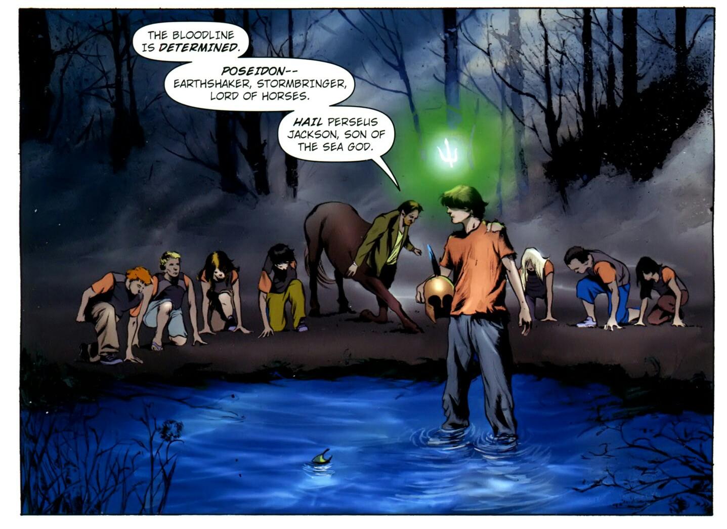 Percy Jackson Comic Book