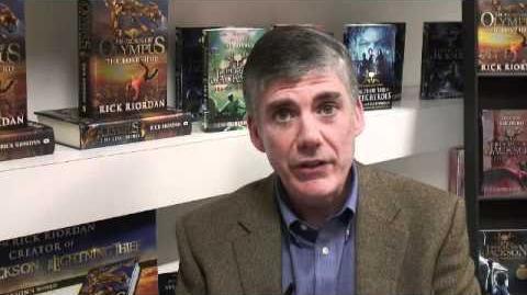 Rick Riordan talks about Kane Chronicles