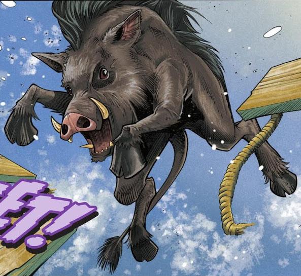 erymanthian boar riordan wiki fandom powered by wikia