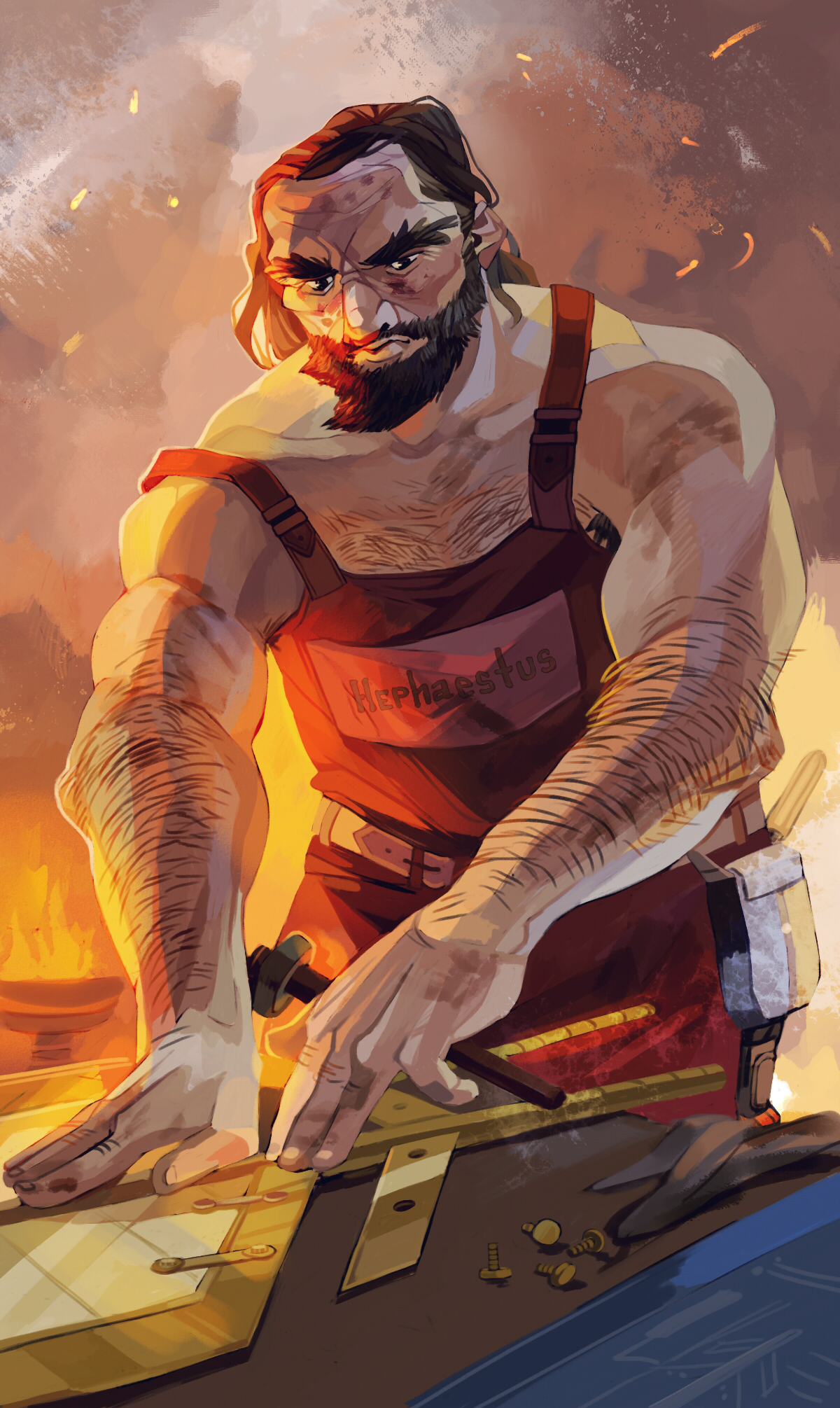 Hephaestus | Riordan Wiki | FANDOM powered by Wikia