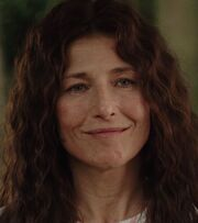 Catherine Keener protraying Sally Jackson in The Lightning Thief film