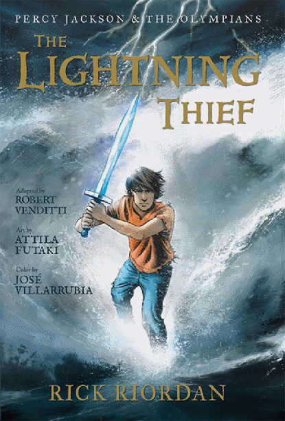 The Lightning Thief (graphic novel) & The Lightning Thief (graphic novel) | Riordan Wiki | FANDOM ... azcodes.com