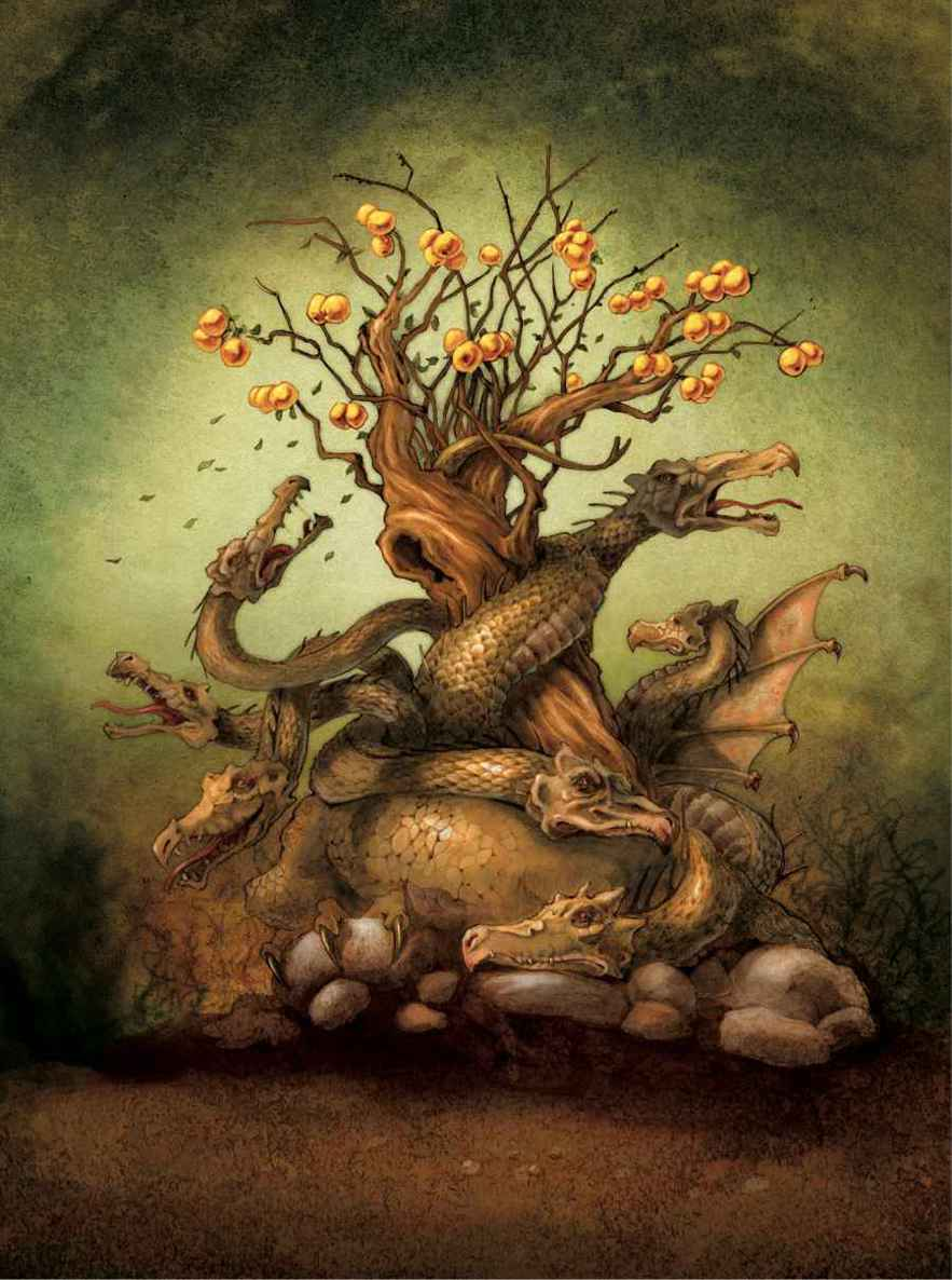 «The tree of the golden apples»