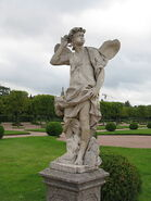 Antonio Bonazza-Zephyrus-Upper Gardens of Peterhof