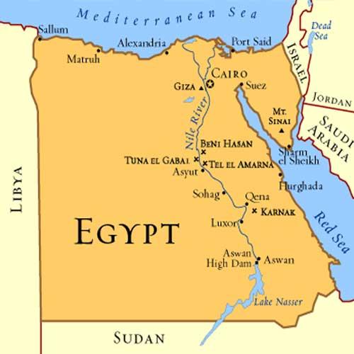 Egypt Riordan Wiki FANDOM Powered By Wikia - Map of egypt karnak