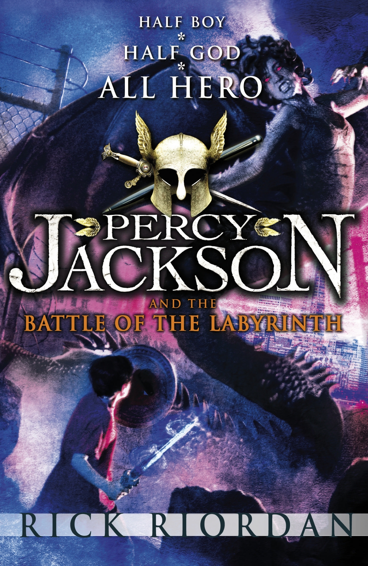 image 4 the battle of the labyrinth uk jpg riordan wiki fandom