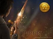 Piper holding Katropis