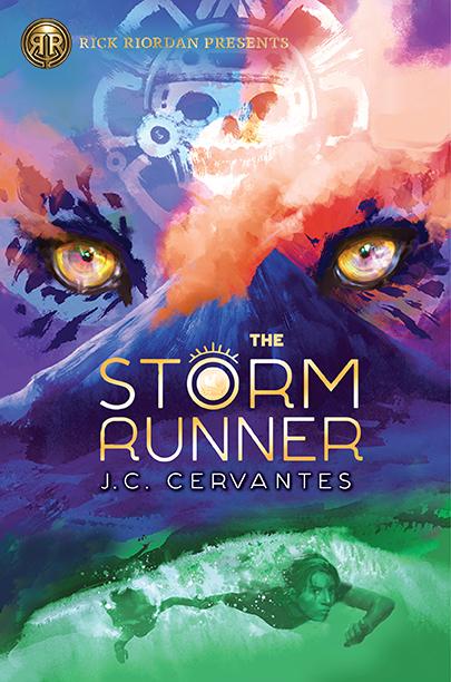 Image result for rick riordan presents storm runner