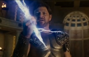 Zeus' lightning