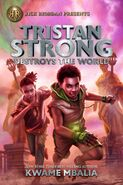 Tristan Strong Destroys The World cover