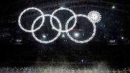 Sochi olympics rings