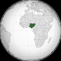 Nigeria orthographic