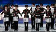 Russian-army-drummer-in-Sochi-Olympics-closing-ceremony-jpg