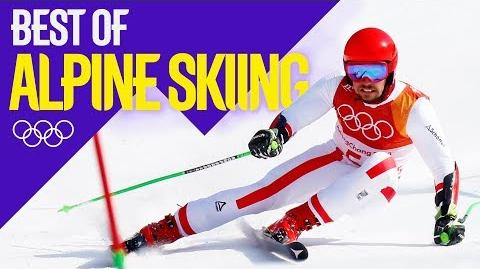 Best Of... Alpine Skiing! Pyeongchang 2018 Eurosport