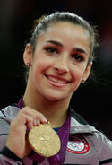 Alexandra Raisman Gold Medal