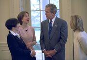 Sarah Hughes George W Bush
