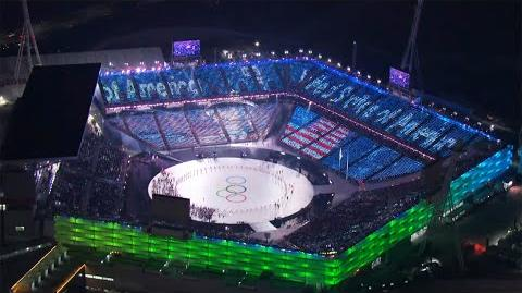 Olympic Winter Games PyeongChang 2018 Opening Ceremony