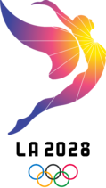 LA 2028 Olympics Logo
