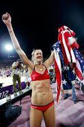 Kerri Walsh Jennings - 3 time Gold Medalist