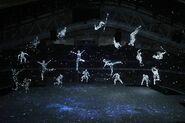 APTOPIX Sochi Olympics Opening Ceremony CMG support 1