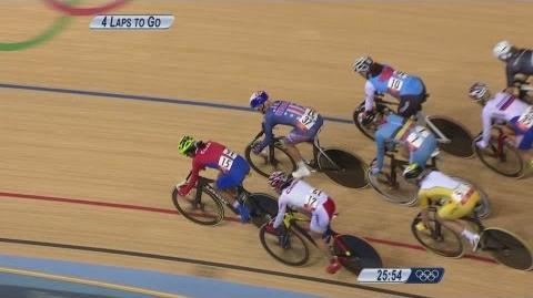 Cycling Track Women's Omnium 20km Points Race - Full Replay -- London 2012 Olympic Games
