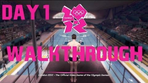 London 2012 Official Olympics Video Game Gameplay