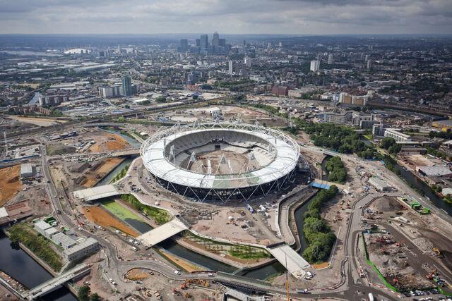File:Olympic Stadium Construction.JPG