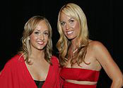Nastia Liukin Amanda Beard Heart Truth 2009 cropped
