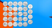 Royal Mint 50p coins