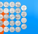 Royal Mint Olympic coins