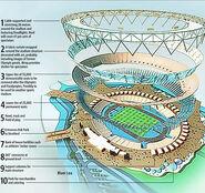 Olympic stadium 530x498