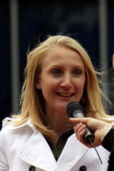 Paula Radcliffe Head