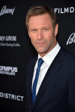 Aaron Eckhart | Olympus Has Fallen Wiki | FANDOM powered ...