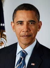 President Barack Obama, 2009 portrait crop