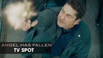 "Angel Has Fallen (2019 Movie) Official TV Spot ""Save"" — Gerard Butler, Morgan Freeman-0"