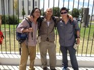 OHF- Unknown, Brett Chan (middle) and other unknown bomber set pic