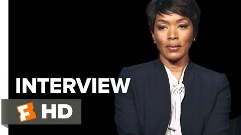 London Has Fallen Interview - Angela Bassett (2016) - Action Movie HD