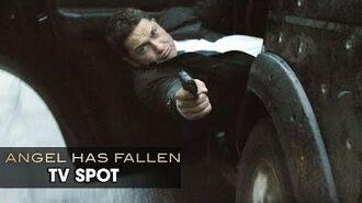 "Angel Has Fallen (2019 Movie) Official TV Spot ""Franchise"" — Gerard Butler, Morgan Freeman-1"